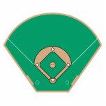 baseball diamond field photo cut outs
