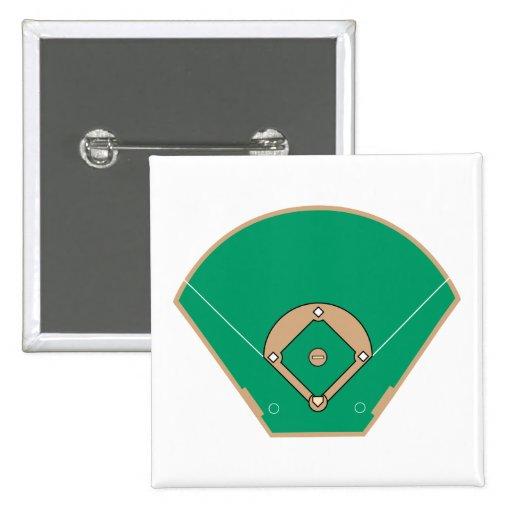 baseball diamond field pins