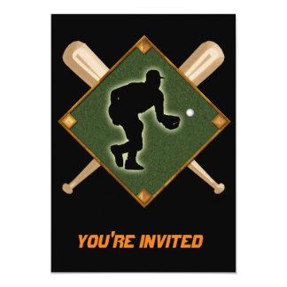 Baseball Diamond Fielding 1 Card
