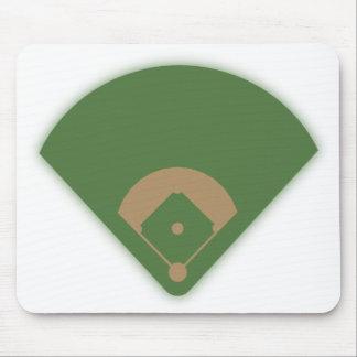 Baseball Diamond: Mouse Pad