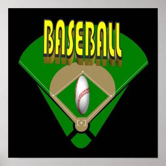 Baseball Diamond Print
