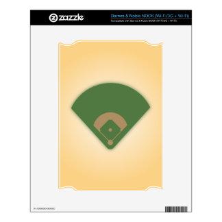 Baseball Diamond: Decal For NOOK