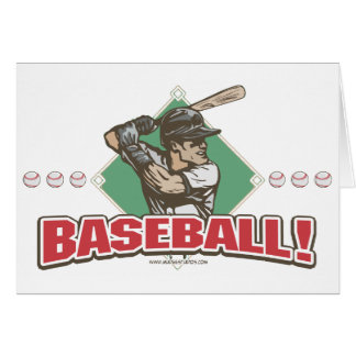 Baseball Diamond Slugger Sports Gear Card