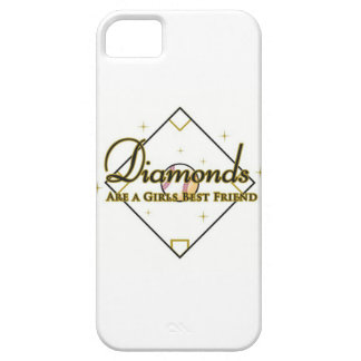 Baseball Diamonds; a girls best friend. iPhone SE/5/5s Case