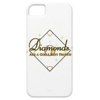 Baseball Diamonds; a girls best friend. iPhone SE/5/5s Case