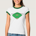 Baseball Diamonds Are A Girls Best Friend T Shirt