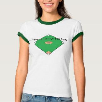Baseball Diamonds Are A Girls Best Friend T-Shirt