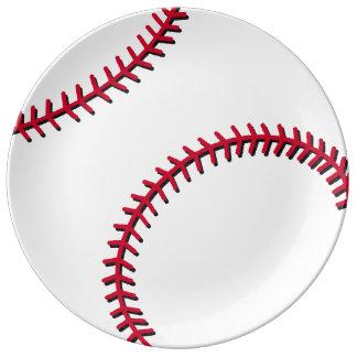 Baseball Dinner Plate
