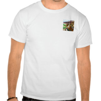 """BASEBALL DOGS:  """"One to Tie, Two to Win"""" T Shirt"""