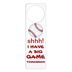 Baseball Door Knob Hangers   Zazzle
