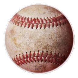 Baseball Drawer Pull Baseball knob Kids Decor