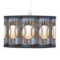Baseball Dreams Pendant Lamp