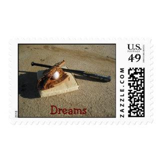 Baseball Dreams Stamps