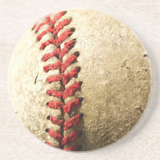 Baseball Drink Coaster