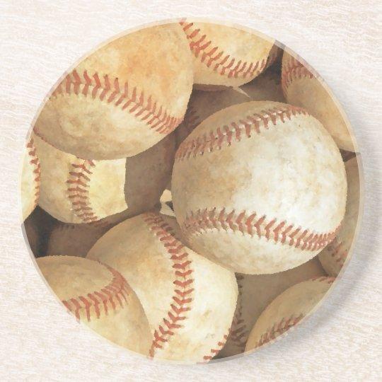 Baseball Drink Coaster