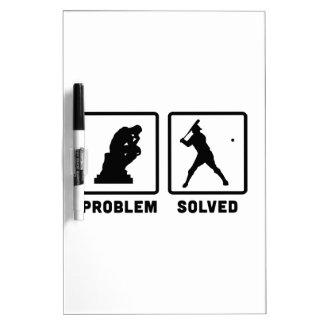 Baseball Dry Erase Board