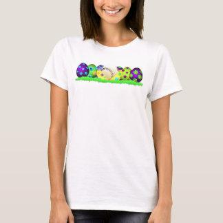 Baseball Easter Egg Row Women's T-shirt