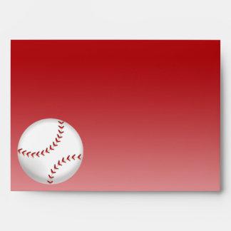 Baseball Envelope