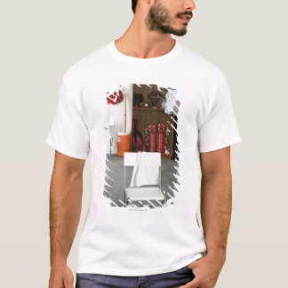 Baseball equipment in locker room T-Shirt