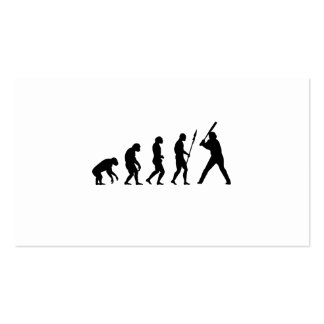 Baseball Evolution Double-Sided Standard Business Cards (Pack Of 100)