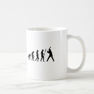 Baseball Evolution Coffee Mug