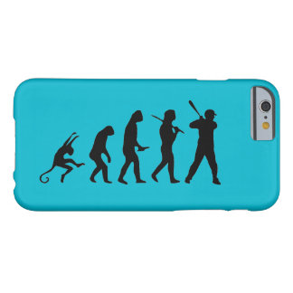 Baseball Evolution - Funny iPhone 6 Cases