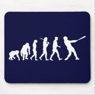 Baseball evolution of Baseball gifts Mouse Pad