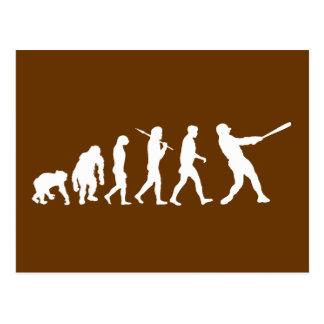 Baseball evolution of Baseball gifts Post Cards