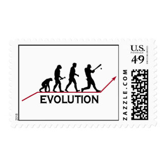 Baseball Evolution stamps