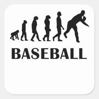 Baseball Evolution Stickers