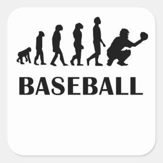 Baseball Evolution Sticker
