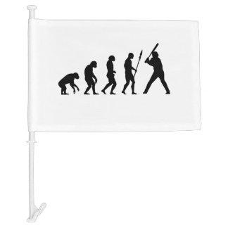 Baseball Evolution Car Flag