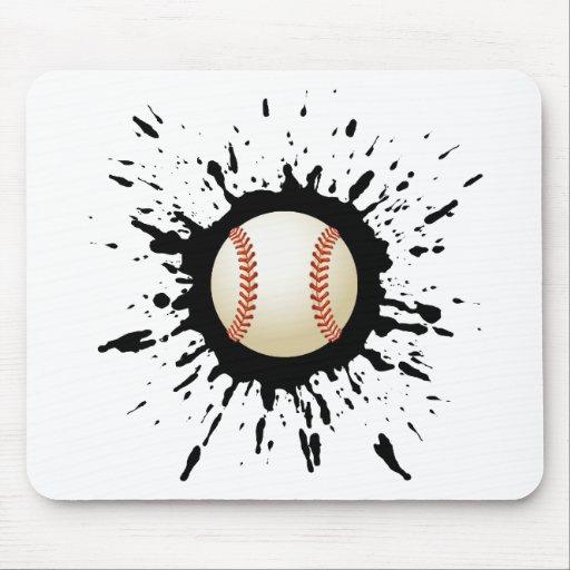 Baseball Explosion Mouse Pad