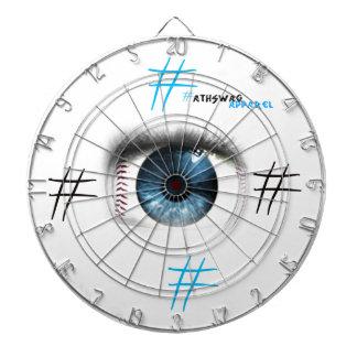 Baseball Eye Dart Board