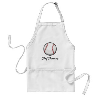 Baseball Fan Adult Apron