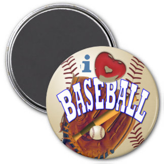 Baseball Fan Magnets