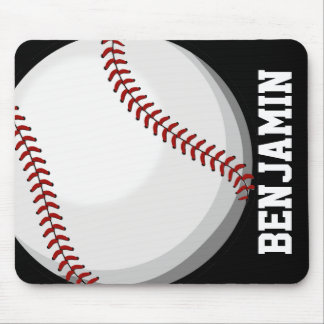 Baseball Fan Mouse Pad