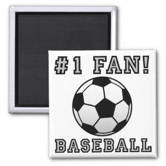 Baseball Fan Not Funny Fridge Magnet