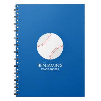 Baseball Fan Notebook