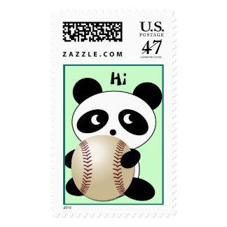 Baseball Fan Postage