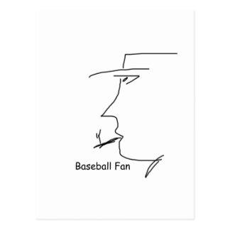 baseball_fan postcard