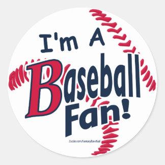 Baseball Fan Sticker