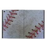 Baseball Fan-tastic_Battered Ball _autograph ready iPad Air Case