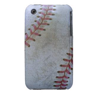 Baseball Fan-tastic_battered ball iPhone 3 Case-Mate Case
