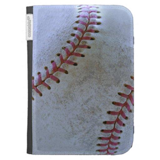 Baseball Fan-tastic_battered ball_custom designed Kindle Keyboard Case