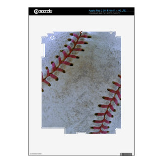 Baseball Fan-tastic_battered ball iPad 3 Skin
