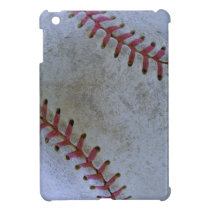Baseball Fan-tastic_battered ball iPad Mini Cover