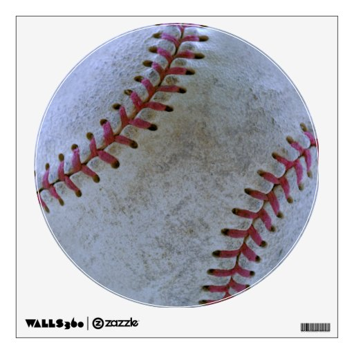 Baseball Fan-tastic_battered ball Wall Sticker
