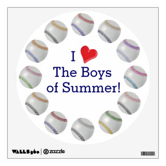 Baseball Fan-tastic_Circle of Balls_Boys of Summer Wall Stickers