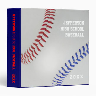 Baseball Fan-tastic_Color Laces_All-American 3 Ring Binder